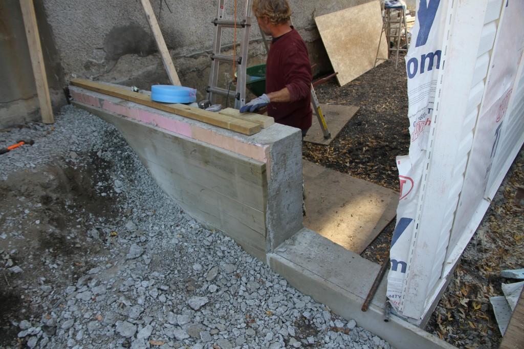 Fondation pour muret finest ferraillage fondation caen - Ferraillage fondation muret ...